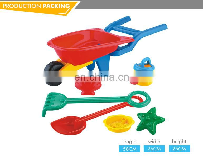 Plastic summer sand digger toy for kids funny beach toy series