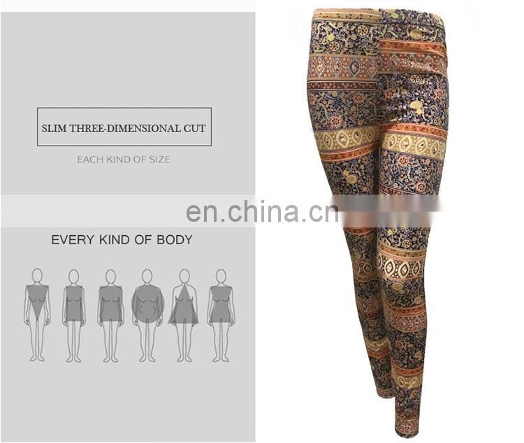 Best Quality Custom Printing 100 Percent Cotton Tights Assorted Leggings