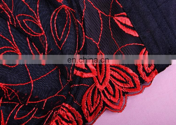 newly design sexy indian girls bra panty photos plus size embroidery mesh padded bra and panty set