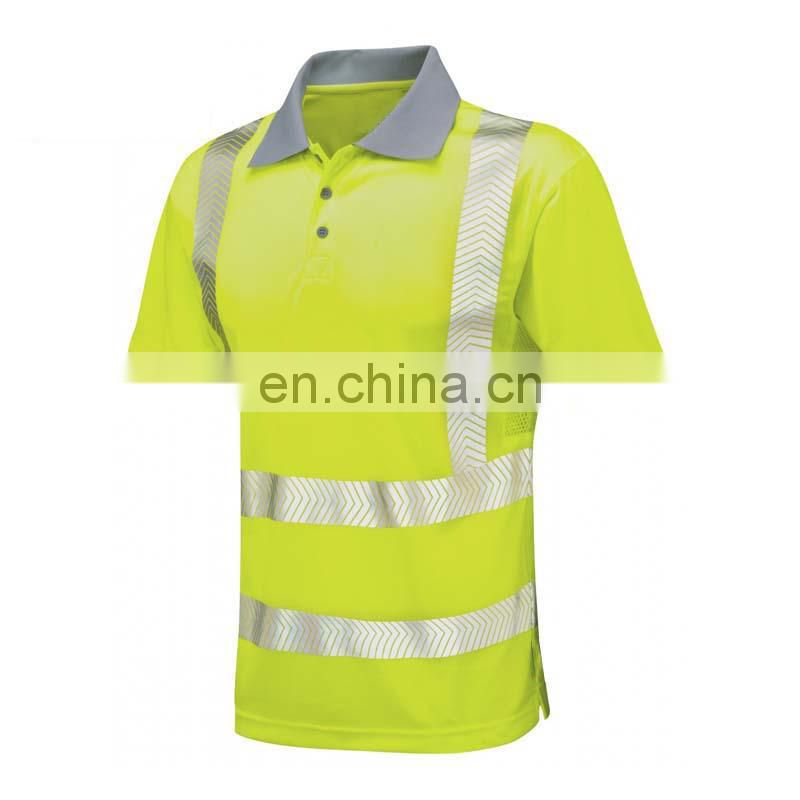 Reflective Safety T-shirt polo sport t-shirt design