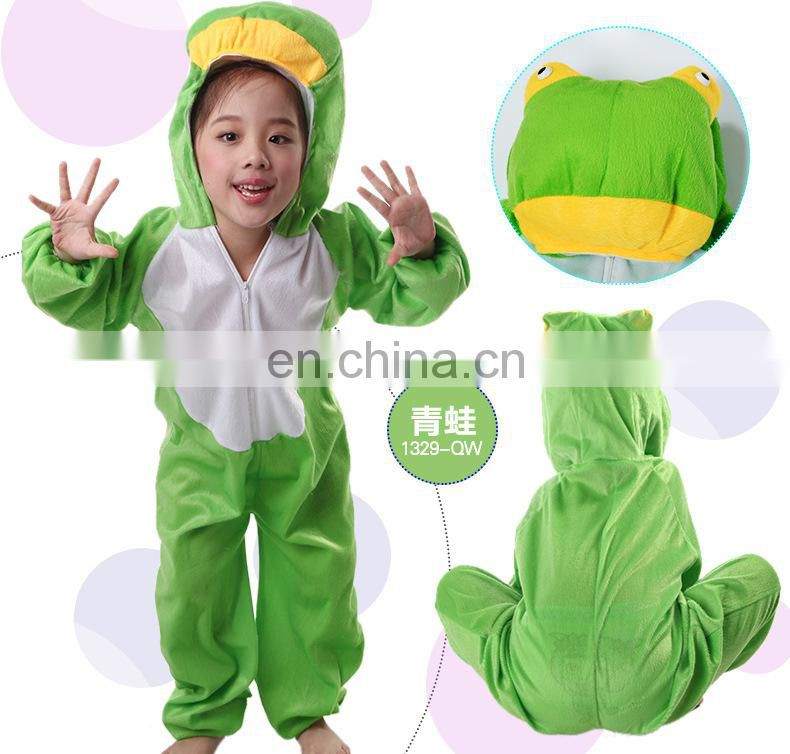 2017 Halloween Party new customised woodland kids animal costumes