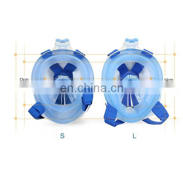 High quality adult scuba diving mask,full face silicone diving mask