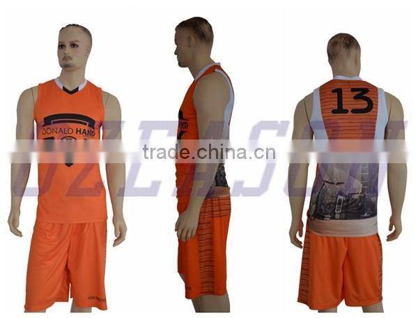 f4e48f8ba39 ... Customize basketball team/club uniforms men's cool basketball shirt basketball  shorts design