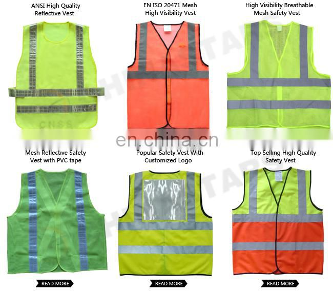 high visibility Reflective sport safety vest