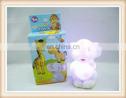 New product gift for kids cartoon elephant shape Led kids night light