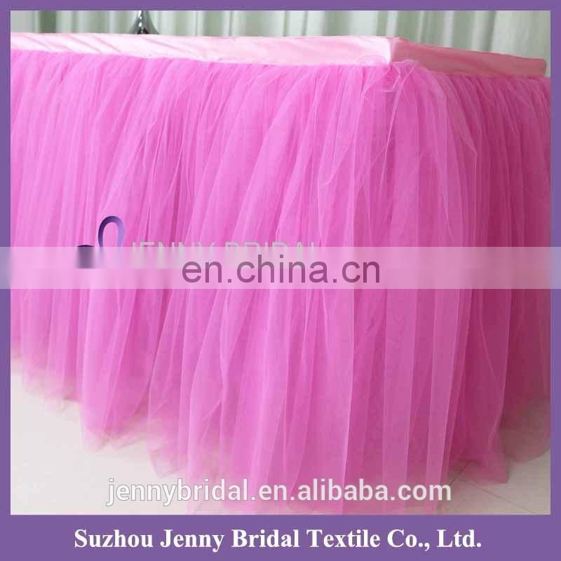TC091#024 tulle lace fabric african french net hard tulle net fabric for table skirt
