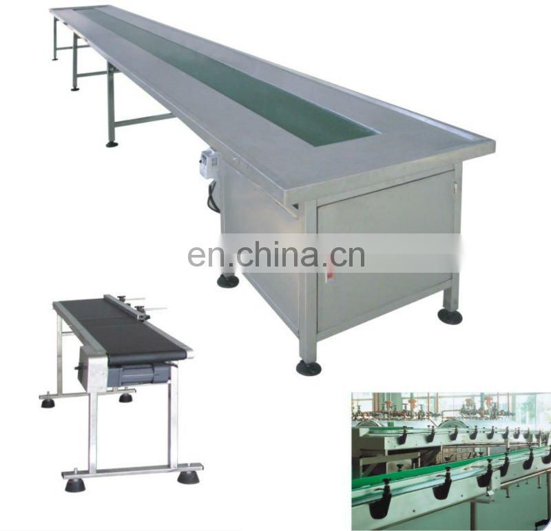 FPQ stainless steel Stepless rubber belt conveyor