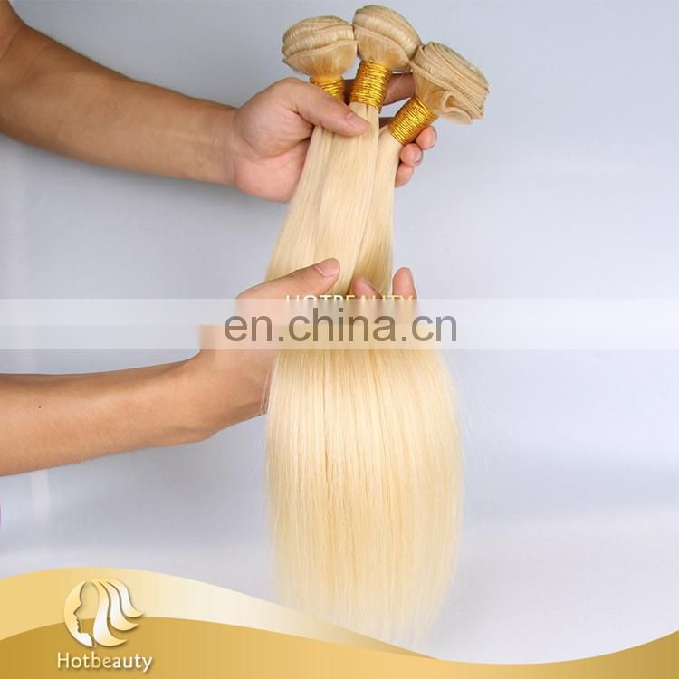 613 blonde ,blonde human hair weave,virgin russian hair hot beautyhair