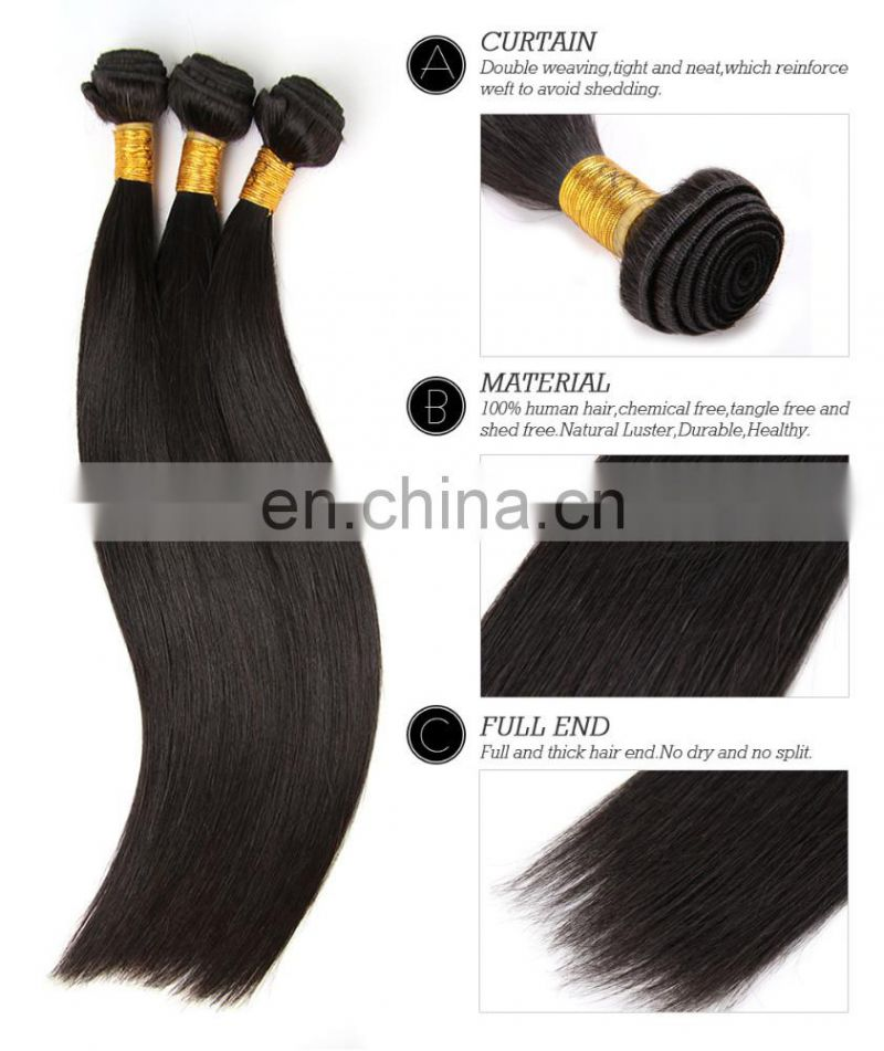 Hair Cuticles Intact Hair, Hot Sale Rose Curl in Nigeria Double Drawn Unprocessed Human Hair