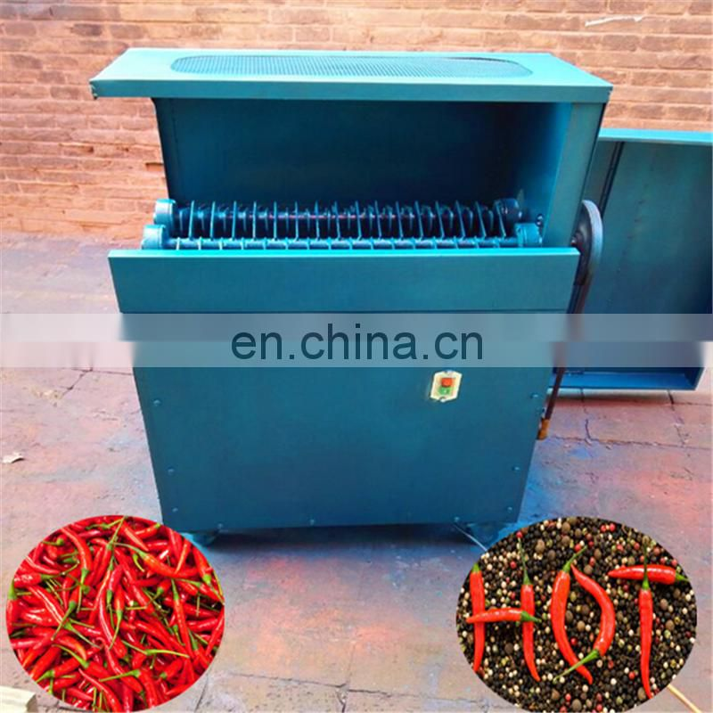 Automatic farm use red chili picking machine /pepper picker harvester with high capacity Image