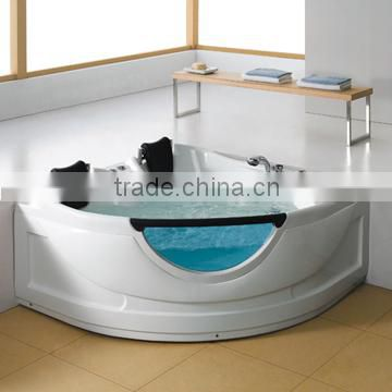 a triangle 2 seats for people massage tub WS-150150