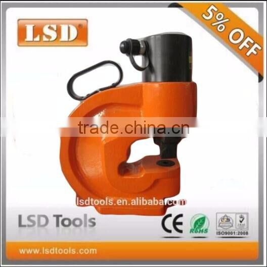 LSDHigh Quality Electricity,construction industry outdoor tools CH-70 hydraulic metal plate hole punching machine
