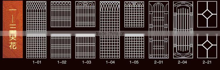 Plain Solid Exterior Doorsstainless Steel Door Frame Design Of