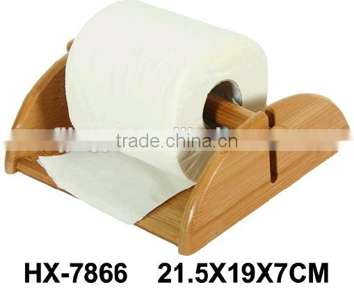 Eco-friendly Bathroom Accessories Bamboo Toilet Paper Roll Holder
