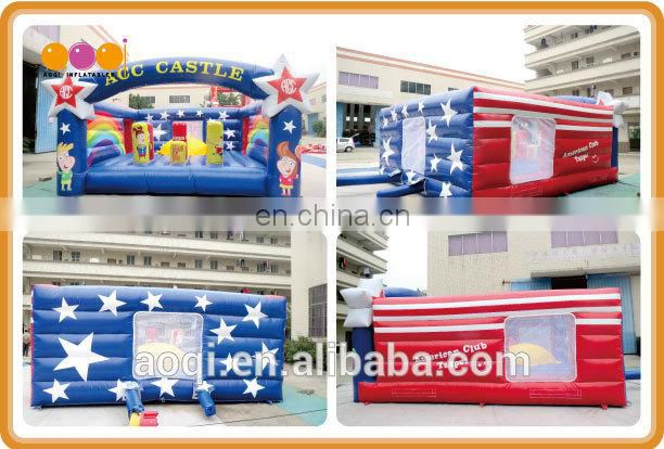 2016 new style inflatable jumping bouncer funny inflatable bouner castle for sale made in China