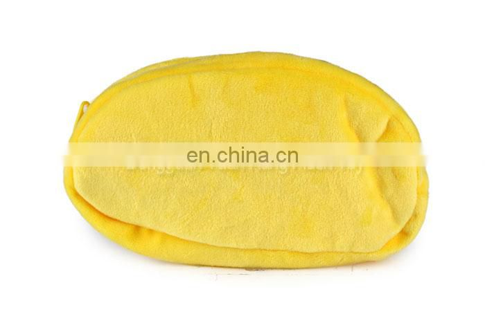 Factory fashion yellow plush chicken coin purse for sale