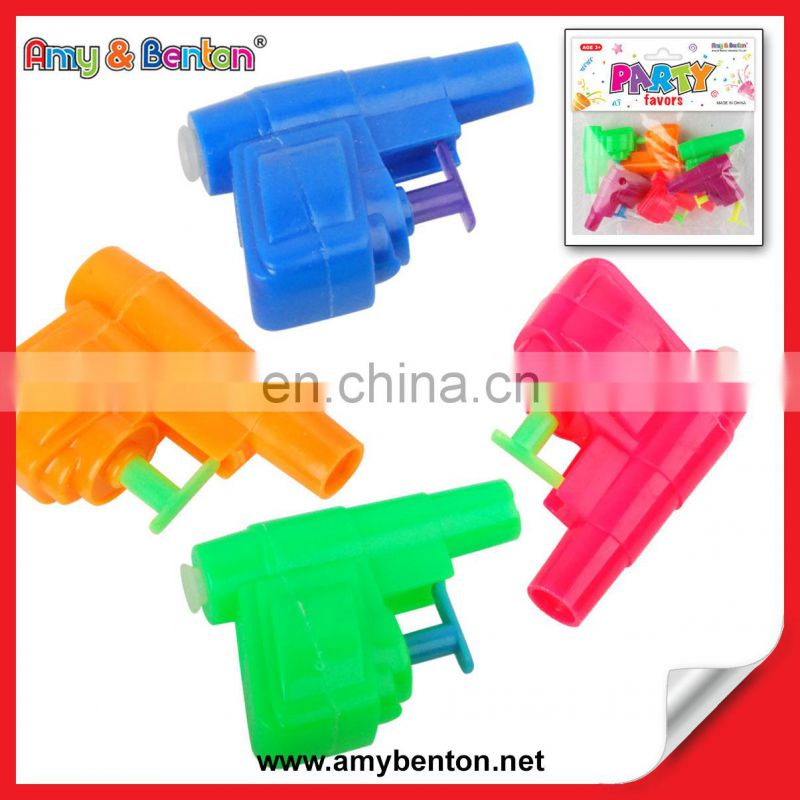 6CM Mini Plastic Water Gun Promotional Water Gun Toy for Kids