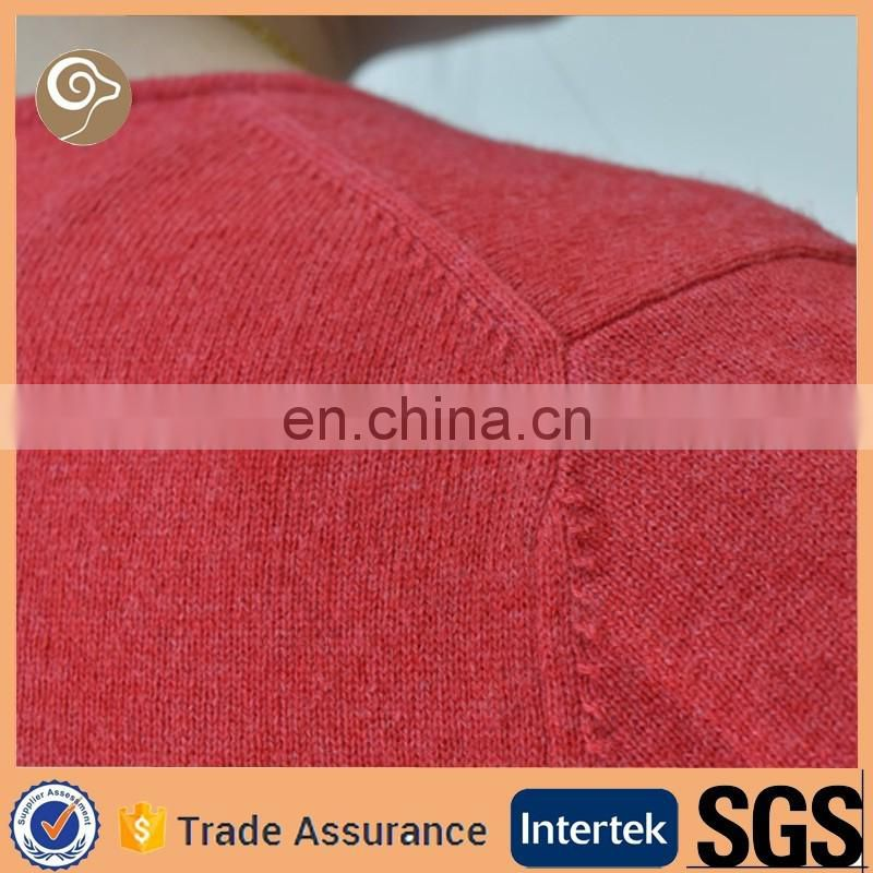 Women cashmere knitted wholesale sweater