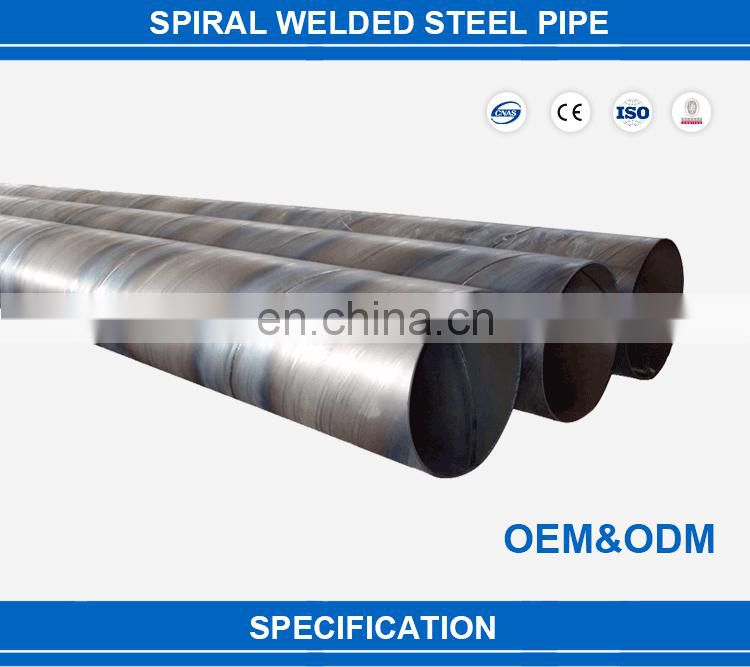 Hot sale helical weld steel pipe for building