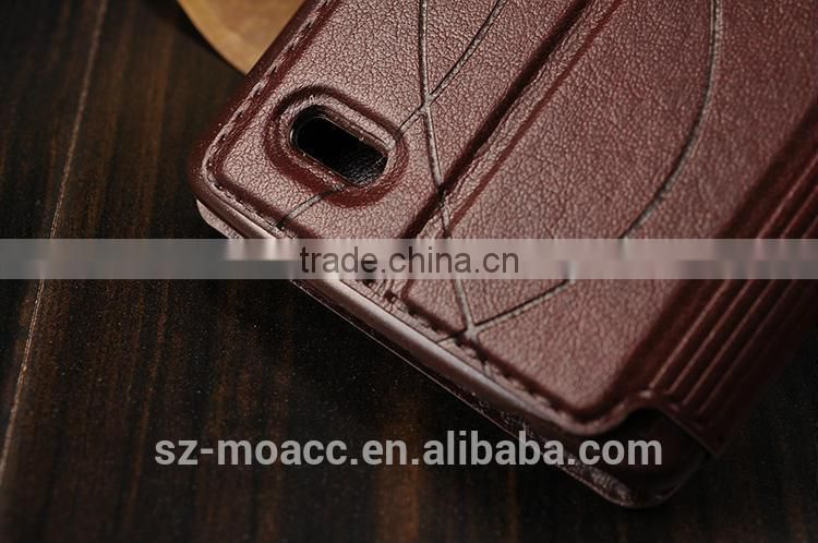 factory price pu leather waterproof case for lg g3