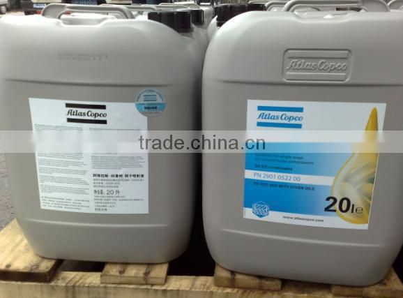 Air compressor oil atlas copco oil2901170100 Industrial Lubricant Application lubricating oil