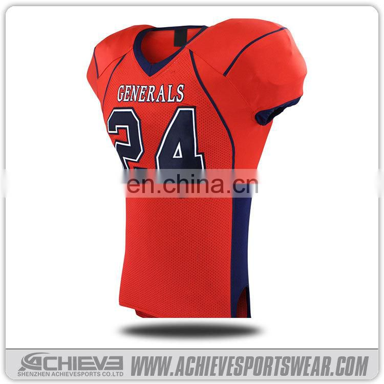 Reversible American Football Jersey, Custom Tackle Twill