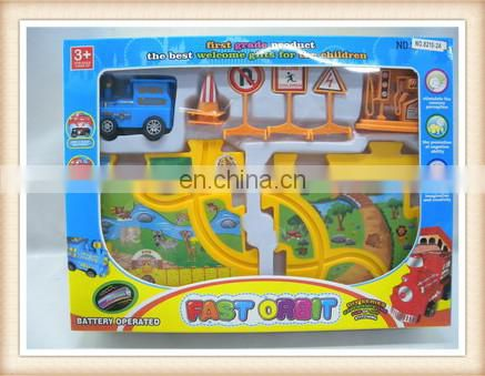 4pcs jigsaw puzzle mat,electric toy train sets, plastic puzzle train track toys