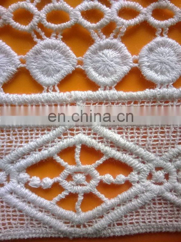water soluble guipure lace trim