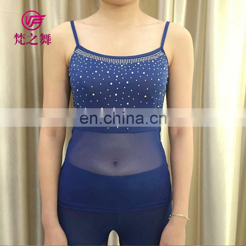 Sexy hot drill wholesale cheap women belly dance tank top with multy color S-3075