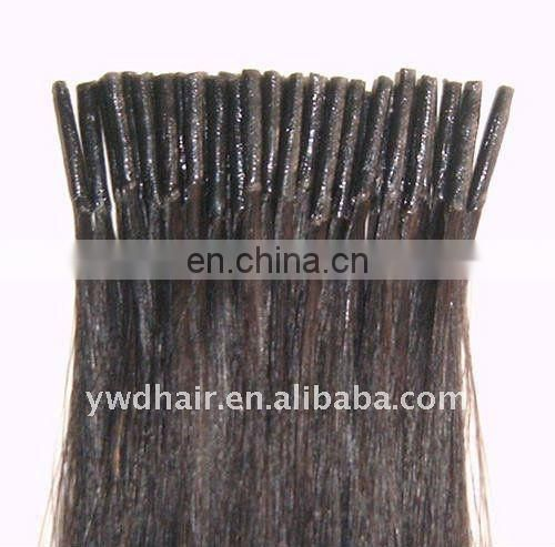 Hot Selling keratin fusion tip 100% remy human hair quality i tip hair extension