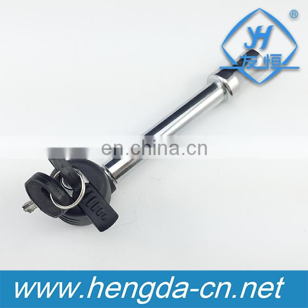 "YH9007 Rotating 5/8"" hitch key lock pin truck trailer tow class II IV and V receiver"