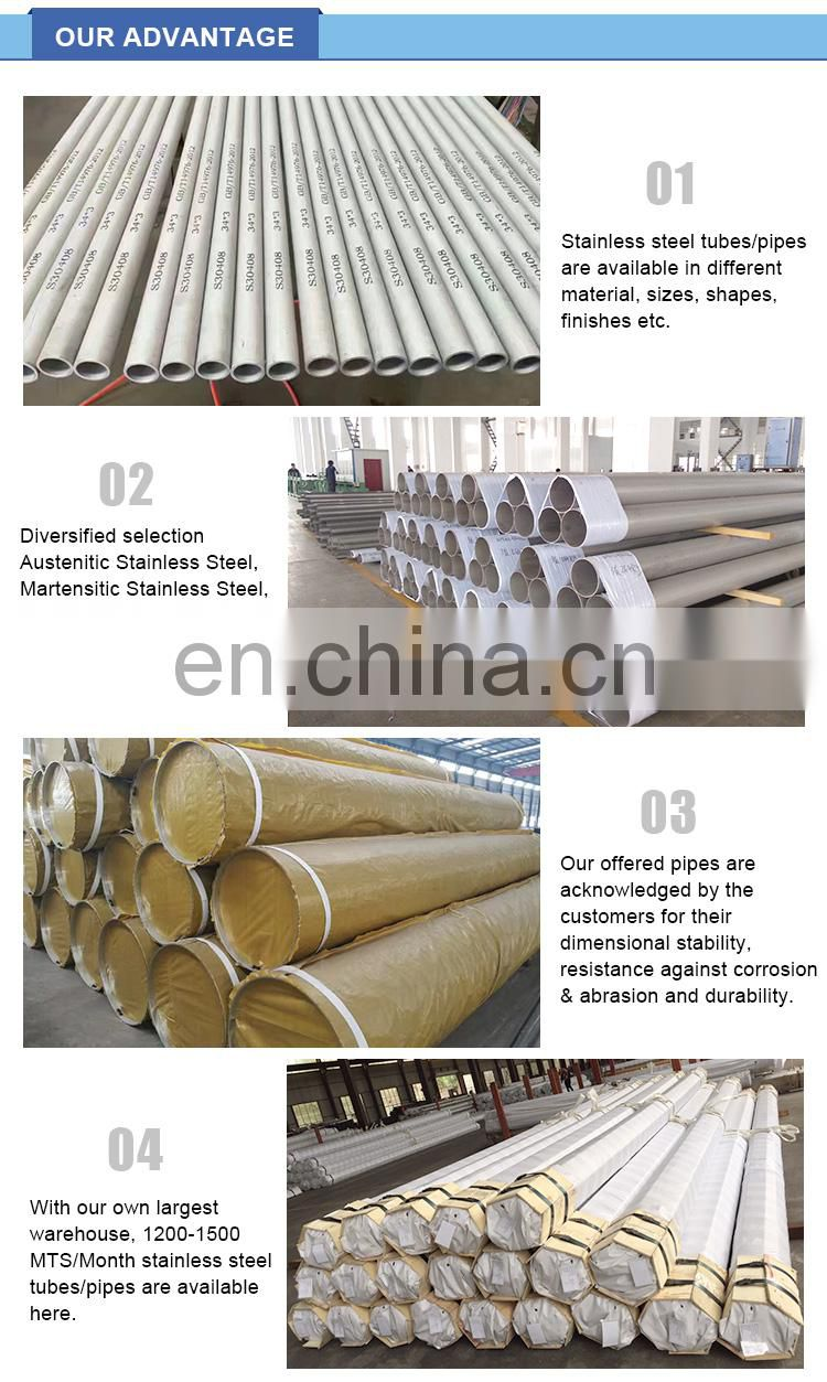 China Factory 310s stainless seamless steel tubing