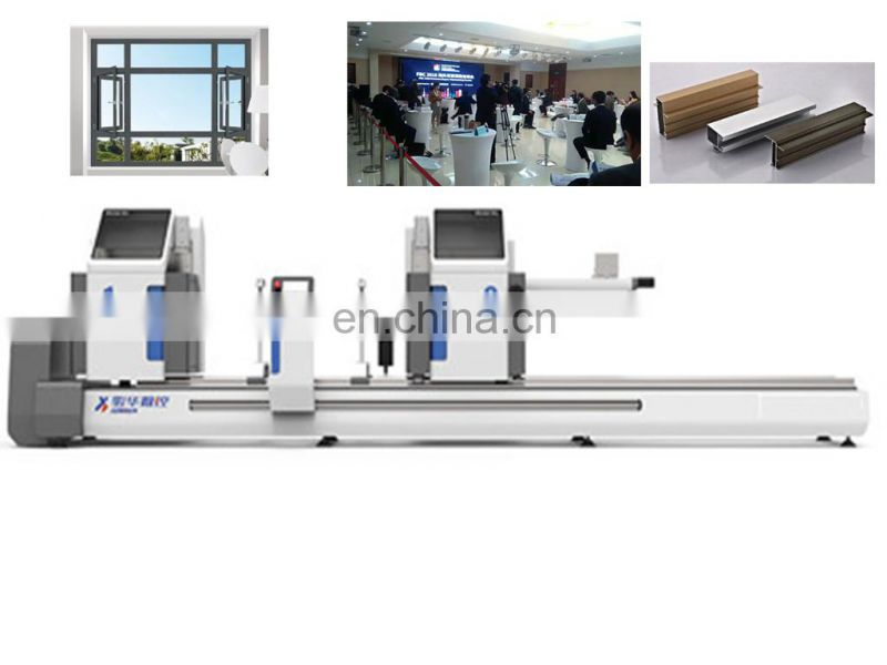 Double_head&cnc cutting saw end face milling machine cnc drilling tapping Aluminum with best price