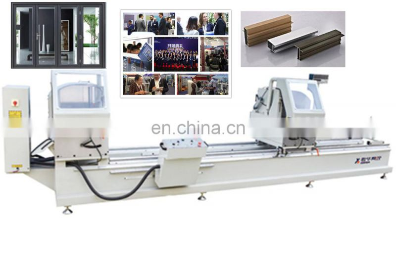 Double head cutting saw Corner Connector cutter key machine miter aluminum extrusion saws with cheap price