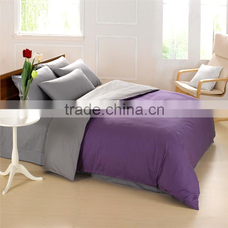 Nantong textile made in China 100% cotton white bedding sets/bed sheet sets/bed cover sheet with cheap price wholesale
