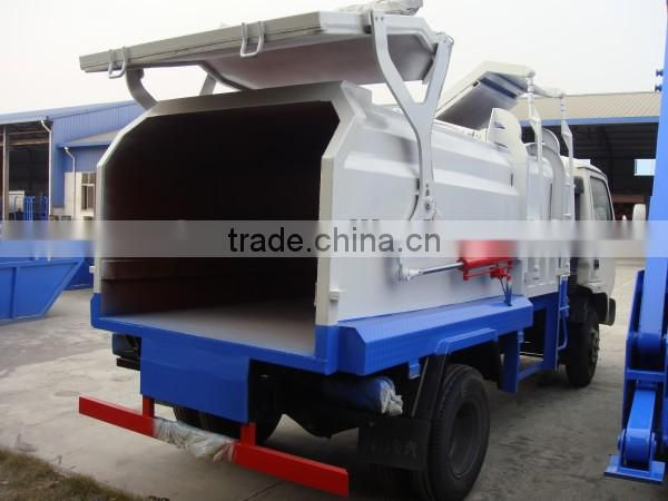 LHD or RHD DONGFENG 4*2 small garbage compactor 5m3