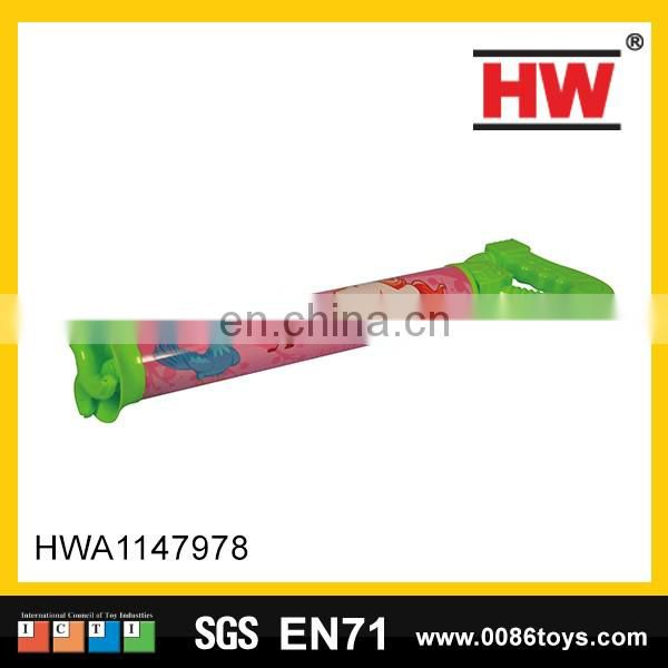 New products 50 cm water pump plastic water gun toys