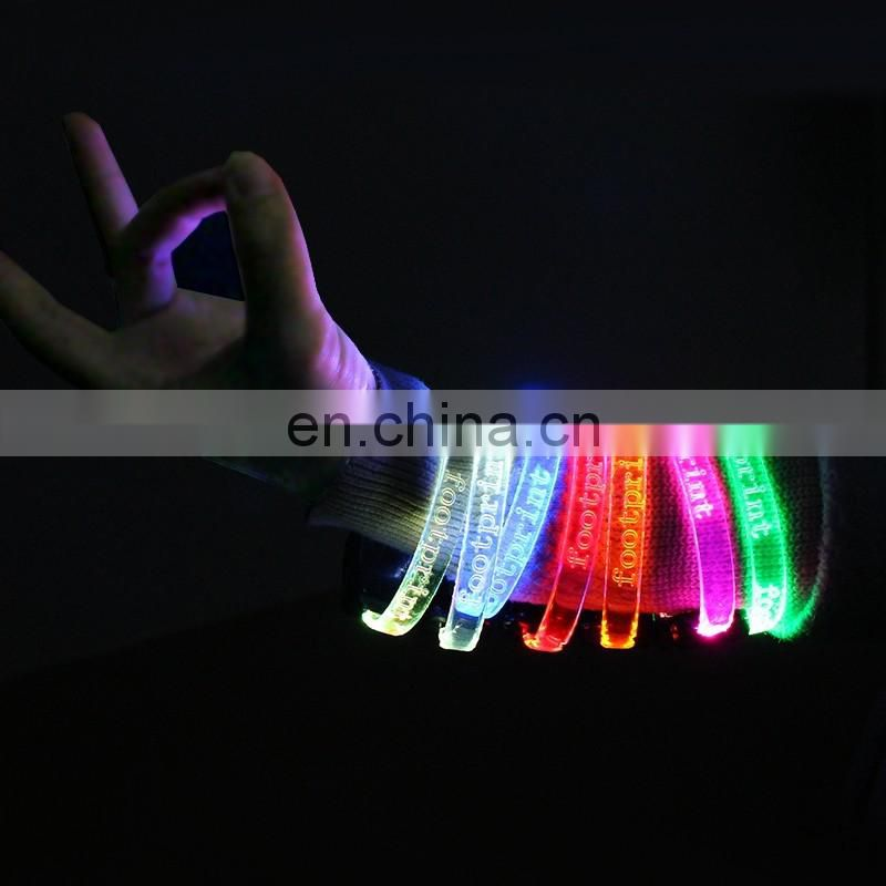 New Arrival Led Wristband Flashing cheap custom wristbands light up custom wristbands