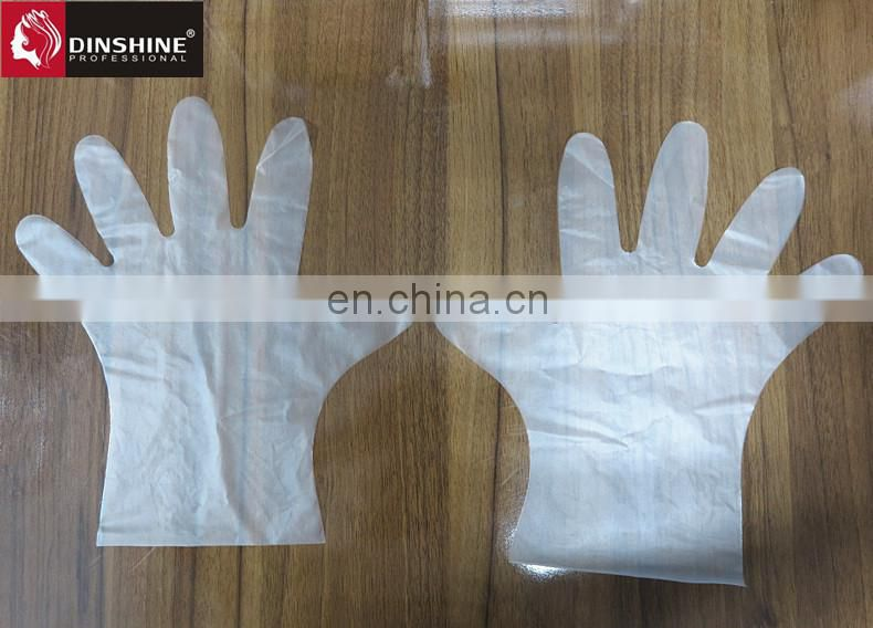 Disposble TPE gloves for hair dyeing