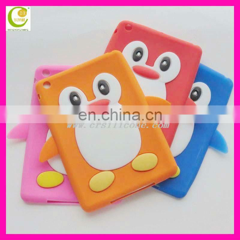2013 hot sale fashion newest design cute silicone case for ipad 2,protective case cute silicone case for ipad mini