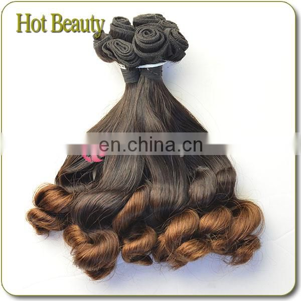 Raw On Sale Unprocessed Ombre Spring Curl Brazilian Hair Wholesale