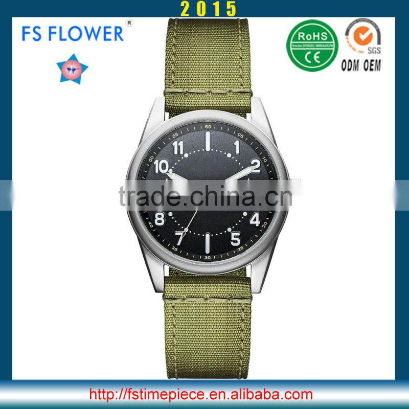 FS FLOWER - Chinese Manufacturers Supply New Fashion Of Young Men Series Nylon Strap Quartz Movement Watch