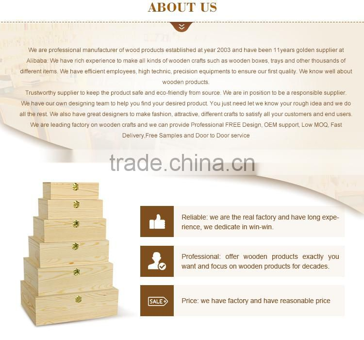 2016 new custom house shape wooden money saving box