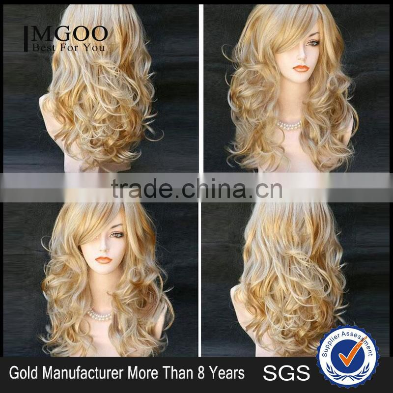 Best Selling Woman Fashion Wig Brazilian Body Wave Natural Wig Full Lace Wig Image
