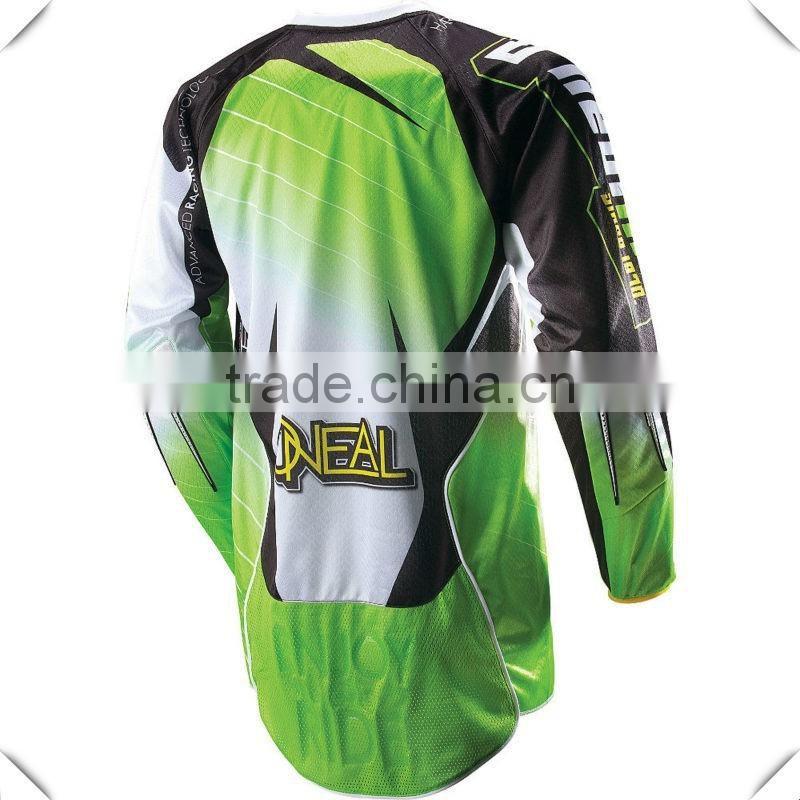 1d2279f8 Fashion Design Custom Printed Mens Motocross Jersey 100% Polyester ...