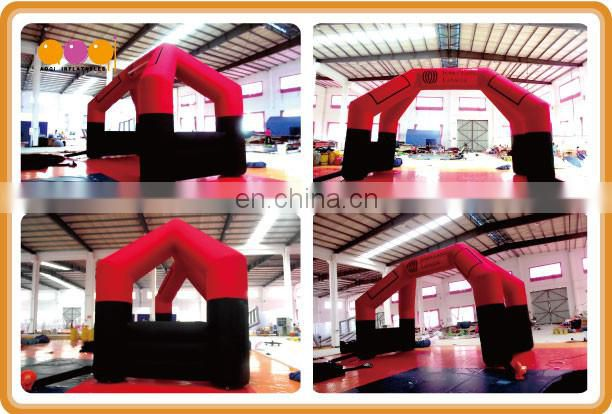 AOQI inflatable 4 leg arch with free EN14960 certificate