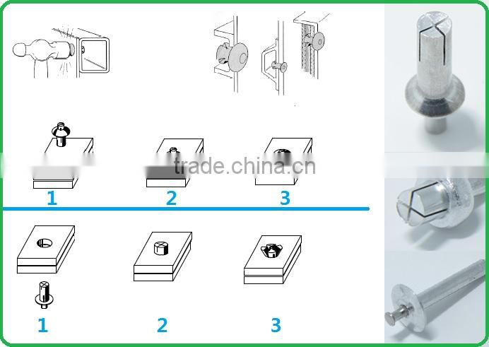 COUNTERSUNK HEAD ANCHOR DRIVE PIN RIVETS of New Products from China