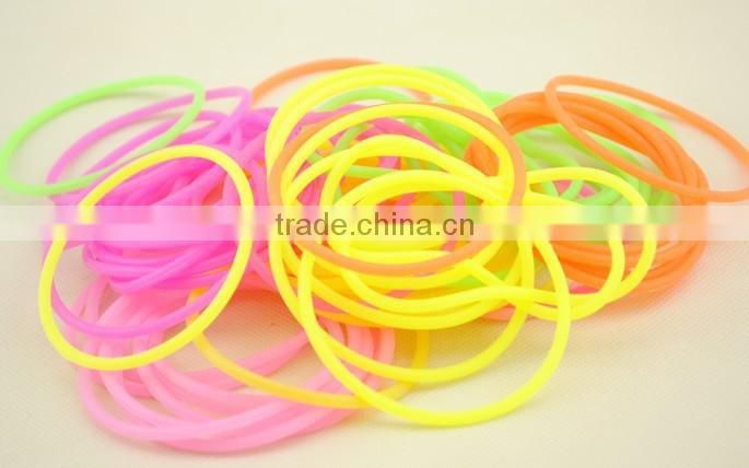 Hot sale promotional gift bracelect candy color cheap bracelects