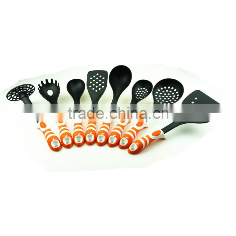 33074 8-Piece colorful nylon material kitchen utensil set