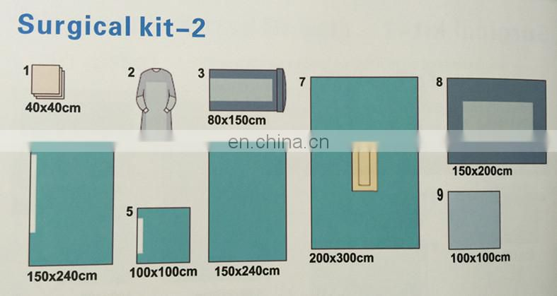 Disposable Surgical Kit with CE